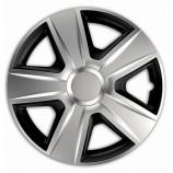 Колпак 13 ESPRIT RC silver-black (Комплект 4 шт.) Elegant