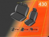 EMC Чехлы на сиденья Renault Master 2011- (1+2)