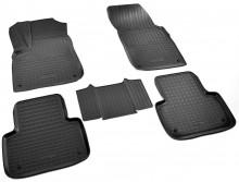 Резиновые коврики Audi Q7 2015- (5 мест)