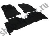 Глубокие резиновые коврики в салон Lexus NX