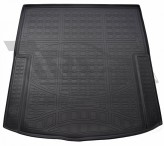 Резиновый коврик в багажник Audi A6 2011- sedan Unidec