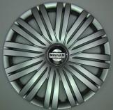 SKS (с эмблемой) Колпаки Nissan 339 R15 (Комплект 4 шт.)