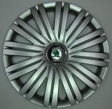 SKS (с эмблемой) Колпаки Skoda 422 R16 (Комплект 4 шт.)